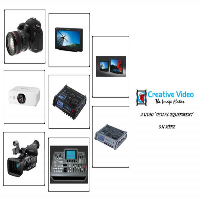 Audio Visual Equipment On Hire - creativevideo.in