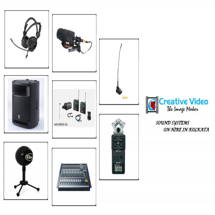 Sound Systems On Hire in Kolkata
